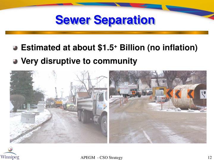 Sewer Separation