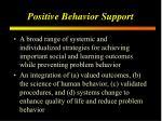 positive behavior support1