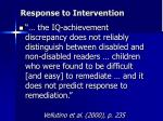 response to intervention1