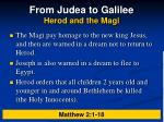 from judea to galilee herod and the magi5