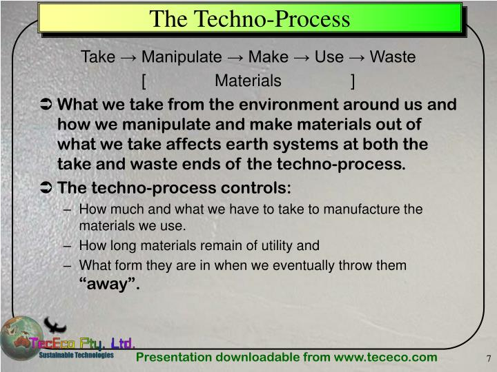 The Techno-Process