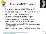 the homer system