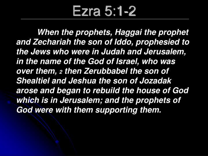 Ezra 5:1-2