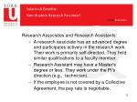 salaries benefits non student research personnel