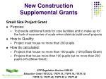 new construction supplemental grants15
