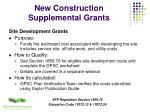 new construction supplemental grants5