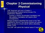 chapter 2 commissioning physical