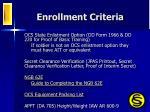 enrollment criteria2