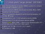 1 2mm pitch large stroke dm r d