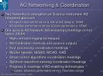 ao networking coordination