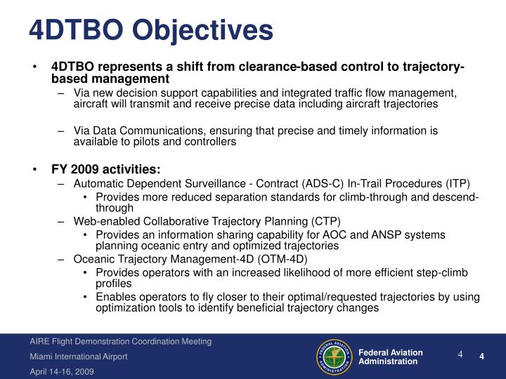 4DTBO Objectives