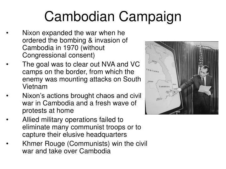 Cambodian Campaign