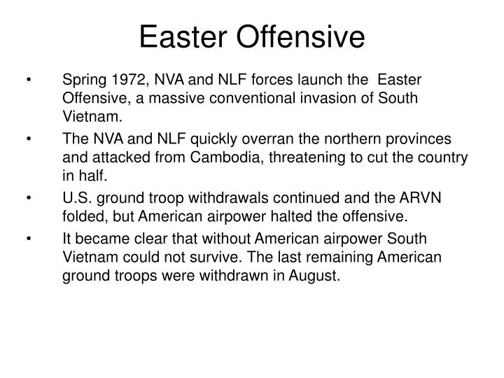 Easter Offensive