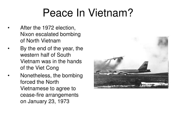 Peace In Vietnam?