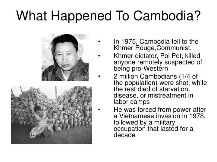 What Happened To Cambodia?