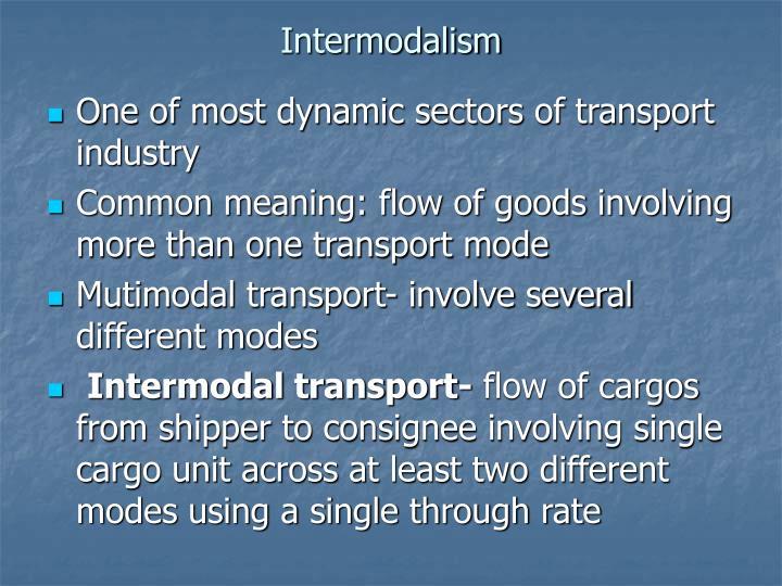 Intermodalism