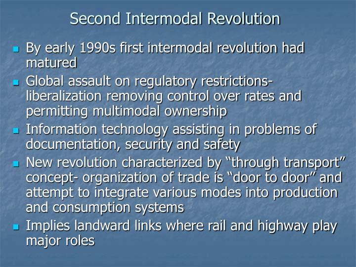Second Intermodal Revolution