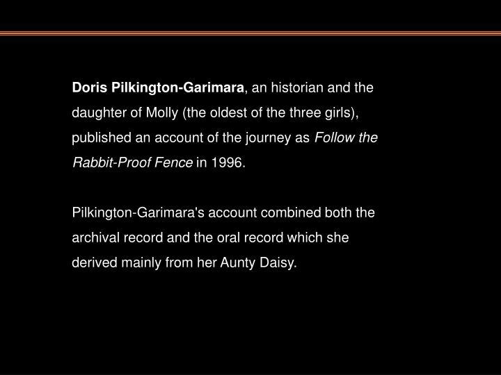 Doris Pilkington-Garimara