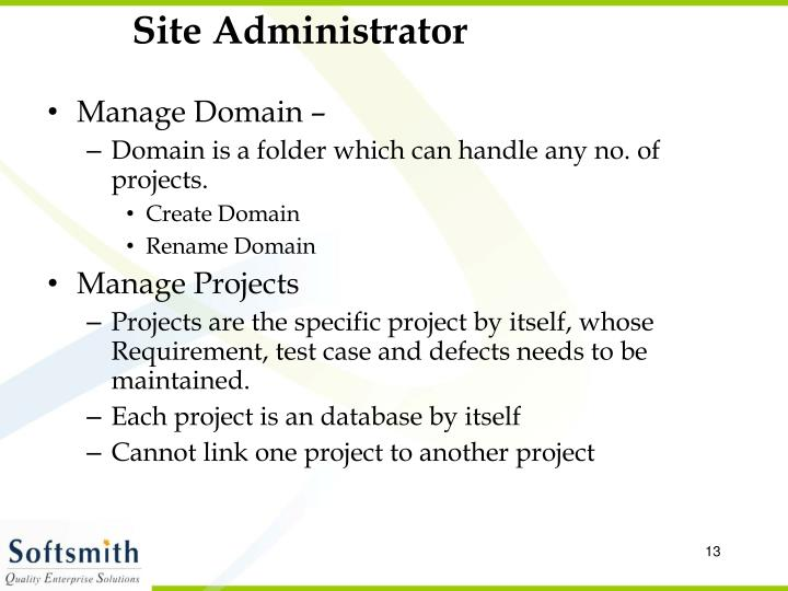 Site Administrator