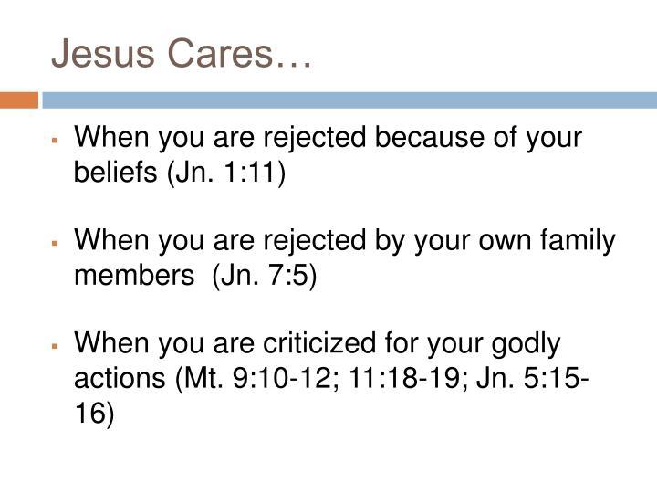Jesus cares1