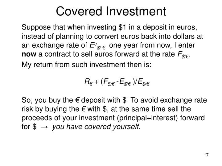Covered Investment