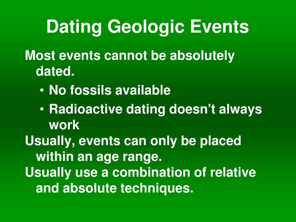 absolute dating halfwaardetijd Bristol dating Verenigd Koninkrijk