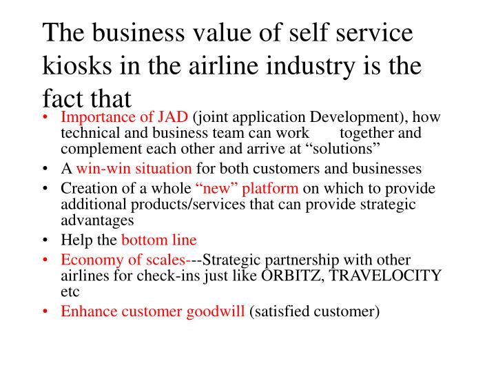 who benefits from the airline industry