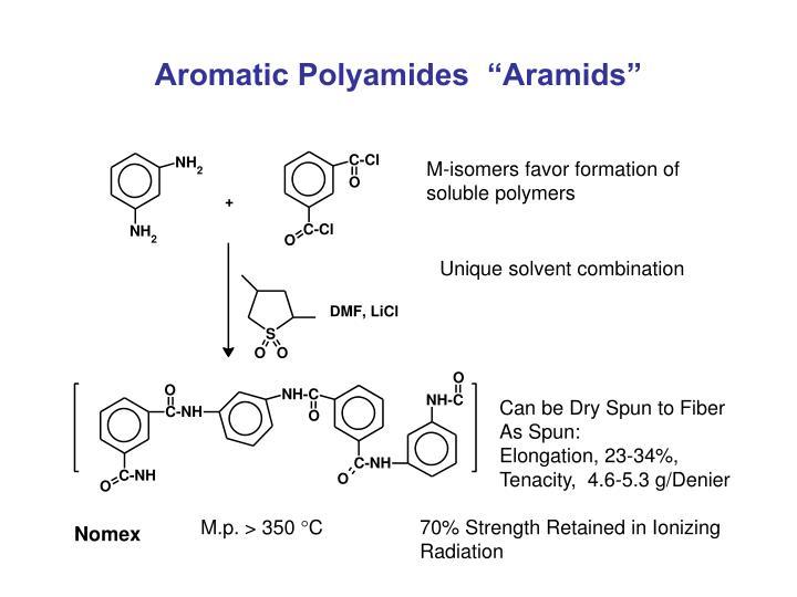 "Aromatic Polyamides  ""Aramids"""