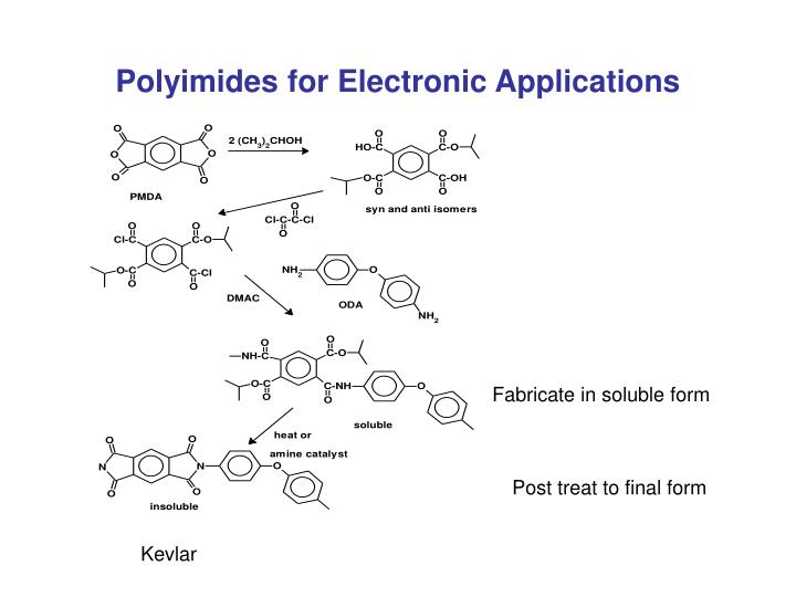 Polyimides for Electronic Applications