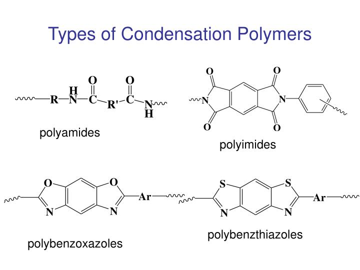 Types of Condensation Polymers