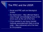 the prc and the ussr