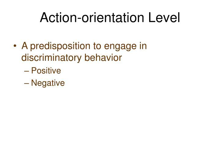 Action-orientation Level