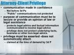 attorney client privilege1