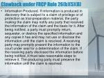 clawback under frcp rule 26 b 5 b