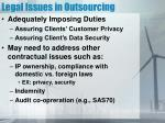 legal issues in outsourcing2