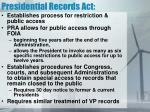 presidential records act1