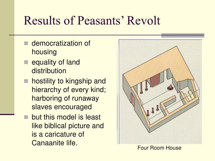 Results of Peasants' Revolt
