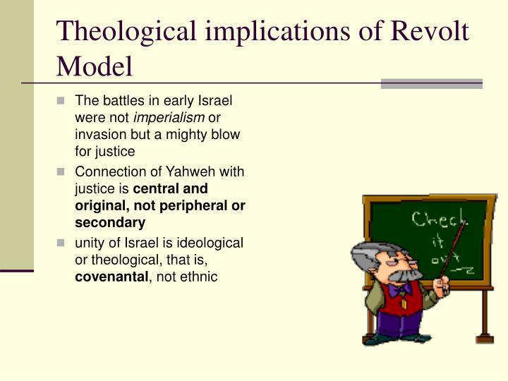 Theological implications of Revolt Model