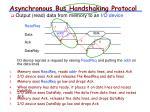 asynchronous bus handshaking protocol