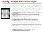 layering example osi network layers