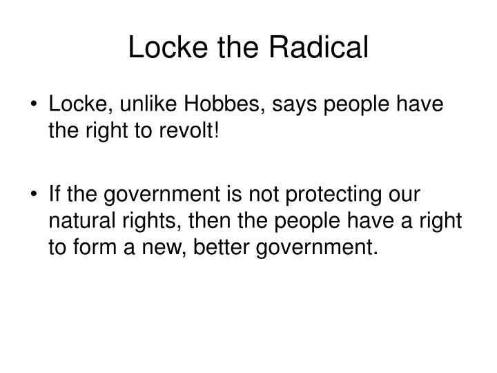 Locke the Radical