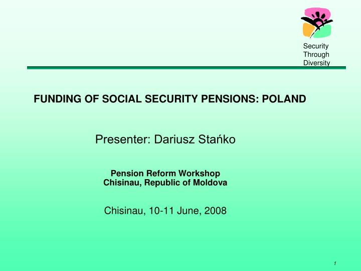 funding of social security pensions poland