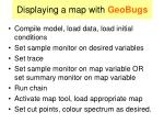displaying a map with geobugs