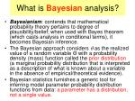 what is bayesian analysis