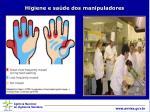 higiene e sa de dos manipuladores