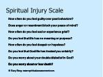 spiritual injury scale