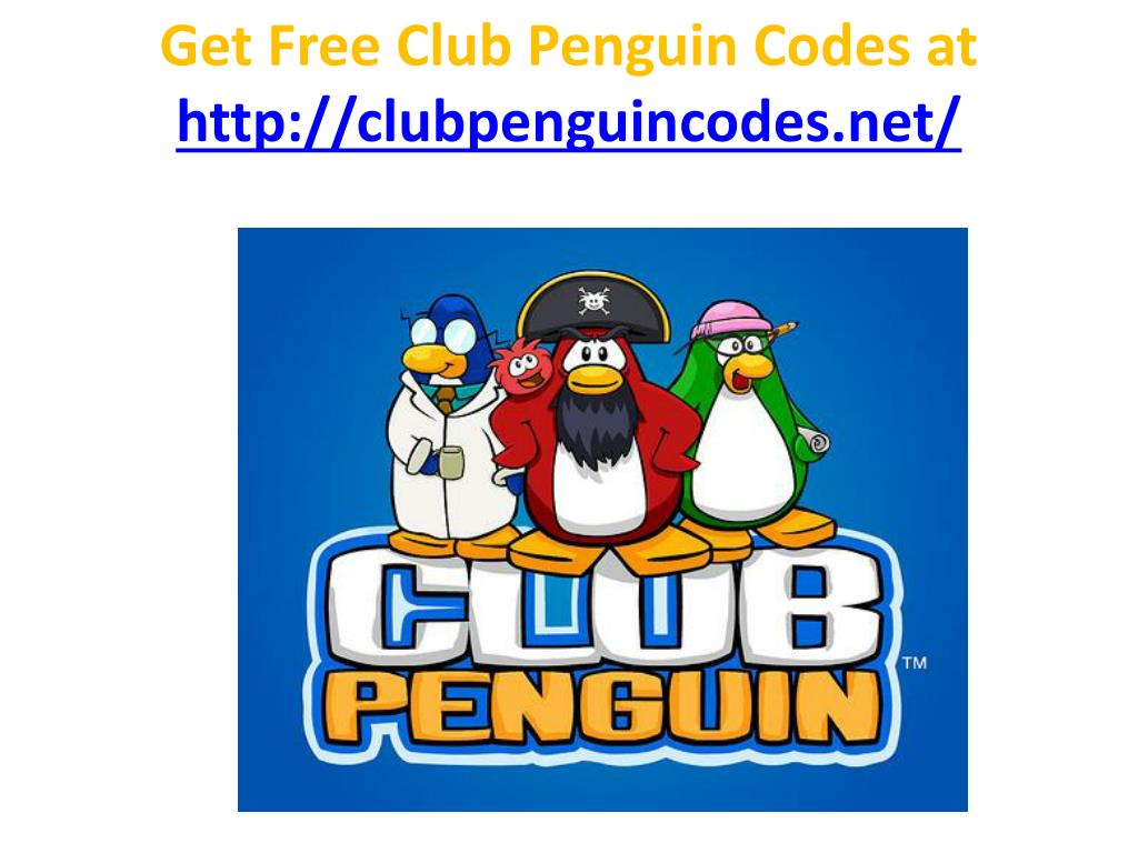 get free club penguin codes at http clubpenguincodes net l.