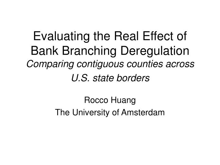 Evaluating the Real Effect of