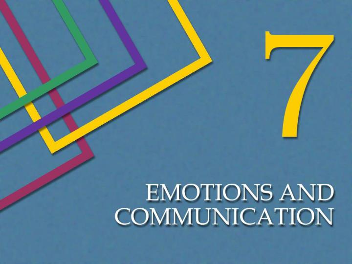 Emotions are processes that are shaped by physiology perceptions and social experiences
