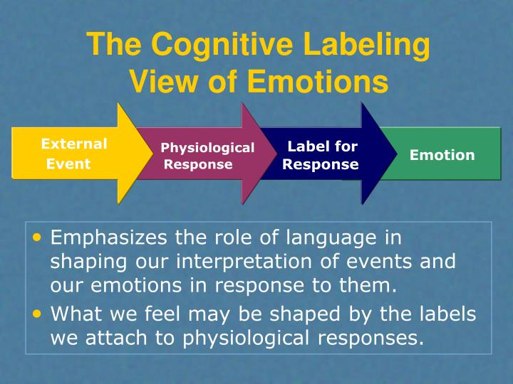 The Cognitive Labeling